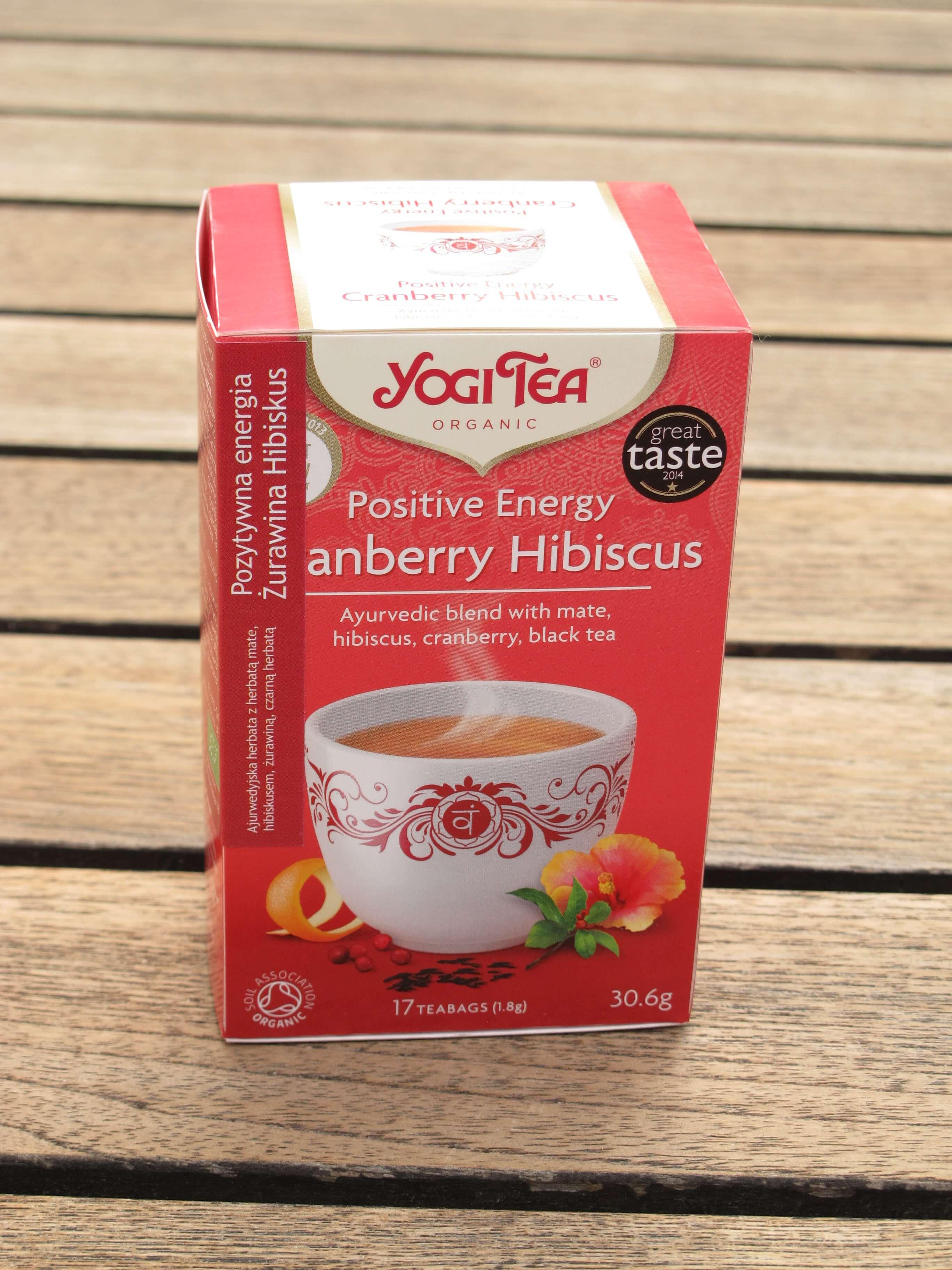 Yogi Tea Ginger Hibiscus