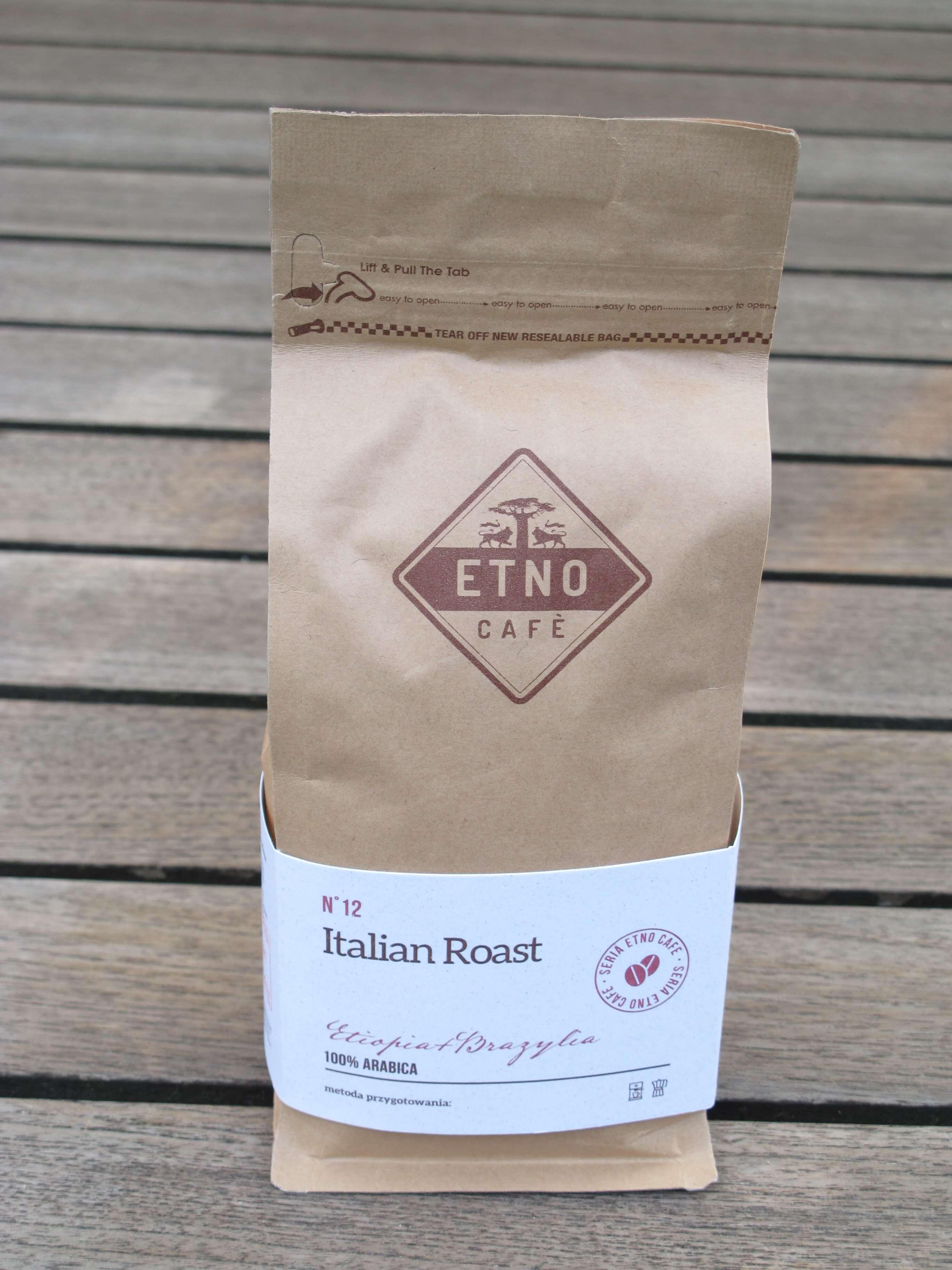 kawa Italian Roast z Etnocafe