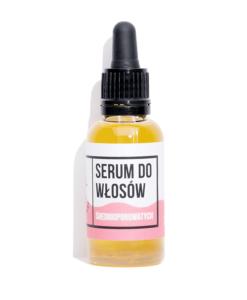 serum do włosów średniporowatych